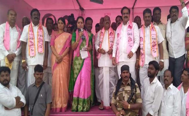 Kaleshwaram Water Give To Nizamabad People Said By MP Kavitha - Sakshi