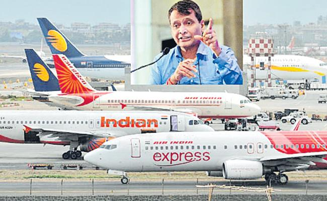 Airlines responsible for their own financial performance - Sakshi