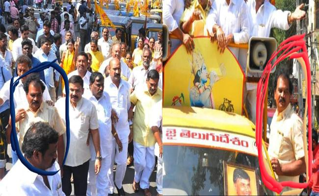 TTD Employees Campaign For TDP Leaders in Chittoor - Sakshi