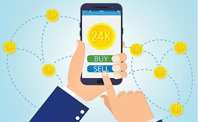 Gold Transactions in Demat Accounts - Sakshi