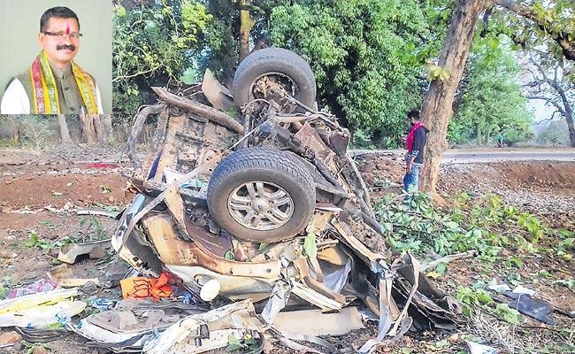 BJP Legislator 4 Others Killed In Maoist Attack In Dantewada District - Sakshi