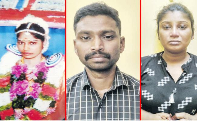 Husband Killed Wife in Tamil nadu - Sakshi