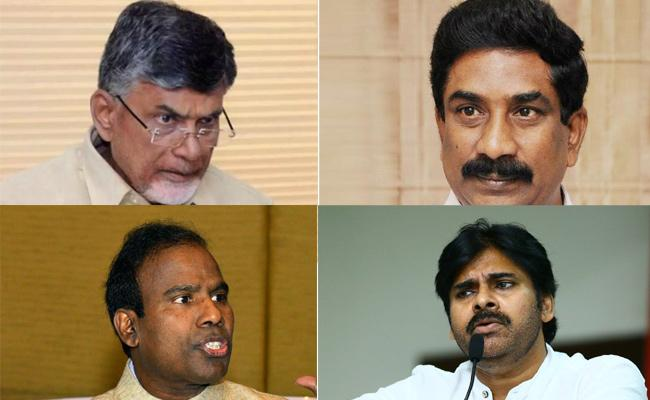 Vijaya Sai Reddy Fires On Chandrababu and Pawan Kalyan - Sakshi