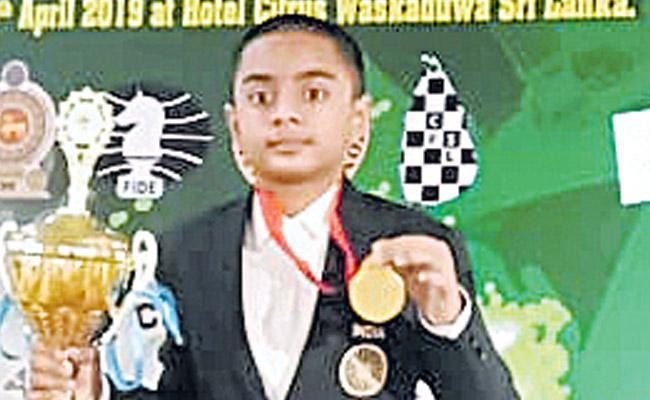 Sivan Took Bronze Medal in the Rapid Team - Sakshi