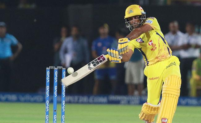 Chennai Super Kings stun Rajasthan Royals with an incredible last ball win - Sakshi
