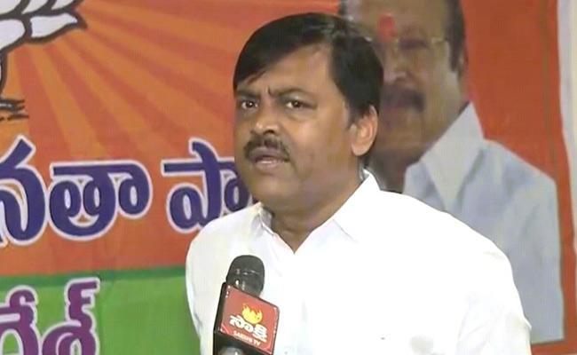 GVL Narasimha Rao Says Chandrababu Naidu Will Lose - Sakshi