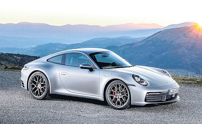 Porsche911 Car Release in Indian Market - Sakshi