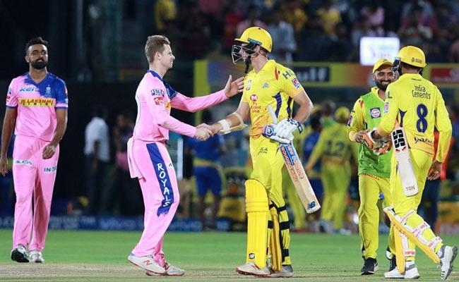 IPL 2019 CSK Beat Rajasthan Royals By 4 Wickets - Sakshi