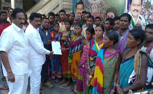 Conduct Re Polling On Saluru Demand For Girijana People - Sakshi