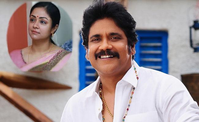 Jyothika May Acts In Nagarjuna Bangarraaju Movie - Sakshi