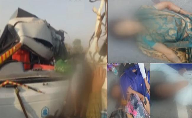 Road Accident In Anantapur district Nallakunta - Sakshi