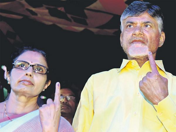 Chandrababu did not speak to Media After Polling Because Of Defeat Fear - Sakshi