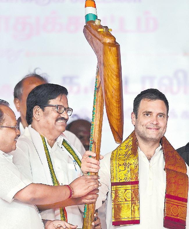 Congress Manifesto Not Mann Ki Baat Of Megalomaniac - Sakshi