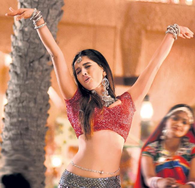 Nabha Natesh look out from iSmart Shankar - Sakshi