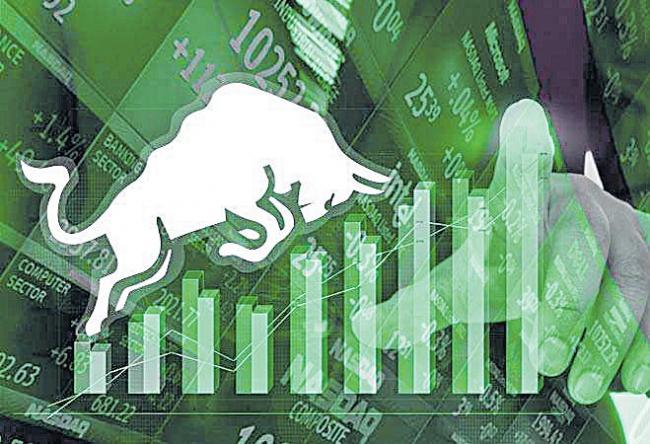 Sensex jumps 160 points to close at 38,767, Nifty settles at 11,643 - Sakshi