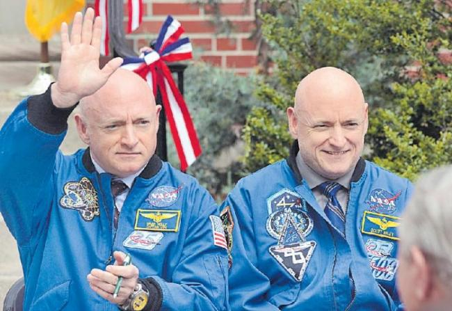 NASA Kelly twins study shows harsh effects of space flight - Sakshi