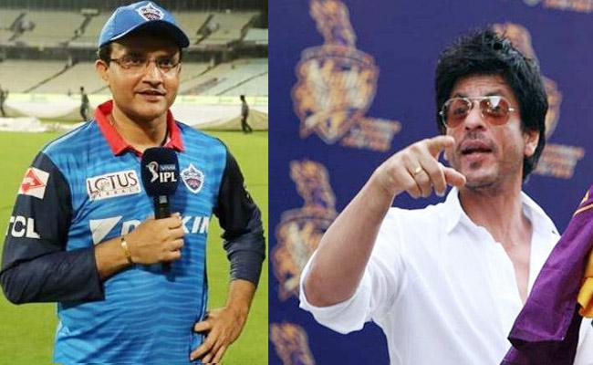 Shah Rukh Khan Special Message For Ganguly Over KKR Lost Match To DC - Sakshi