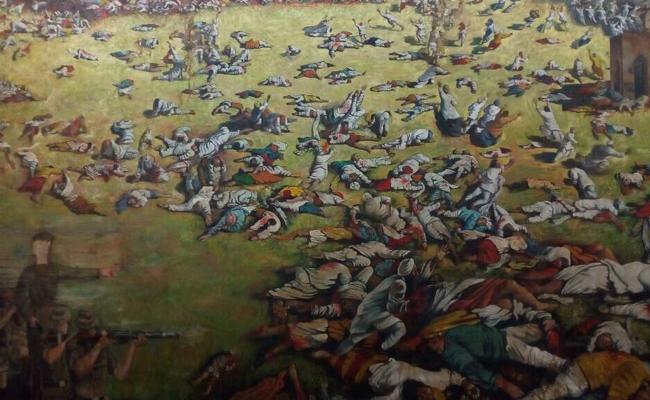 Jalian Wala Bhag Massacre Commemorative - Sakshi