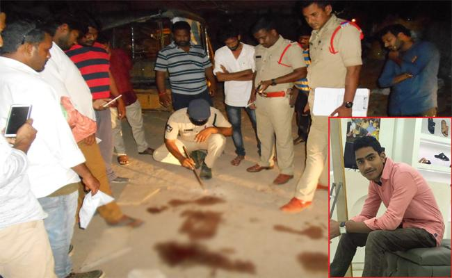 Murder in Conflicts West Godavari - Sakshi