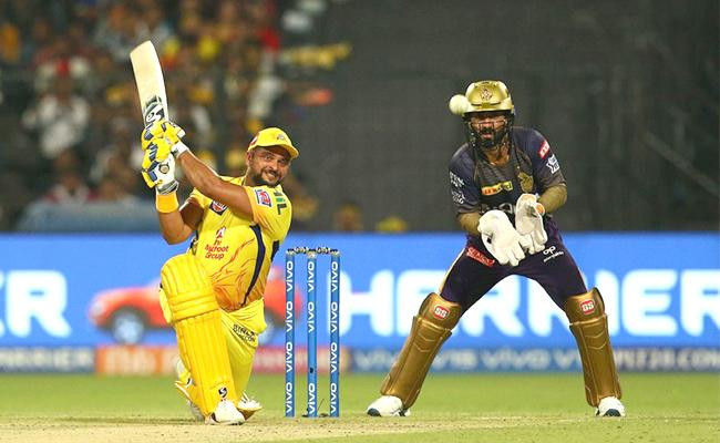 CSK Beat KKR By 5 Wickets - Sakshi