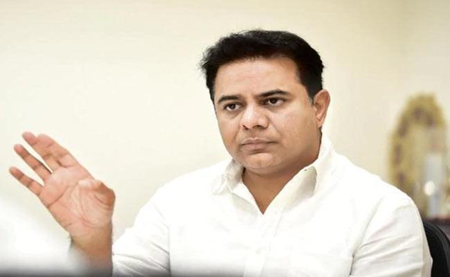 KTR Criticize CM Chandrababu Naidu - Sakshi
