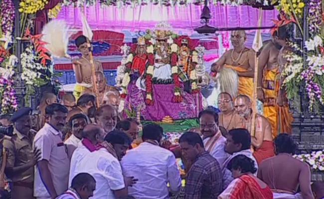 Sri Rama Navami Celebrations In Bhadrachalam - Sakshi
