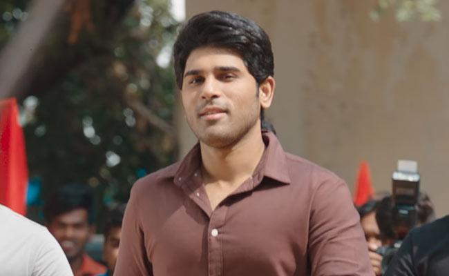 Allu Sirish ABCD Trailer Released By Trivikram - Sakshi