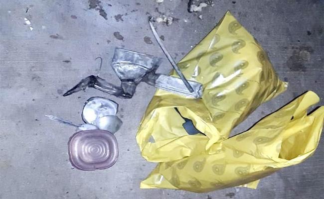 Bomb Blast in Markapuram Prakasam - Sakshi