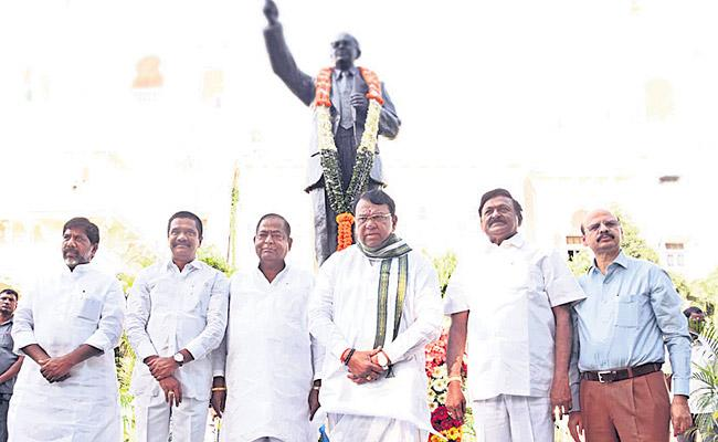 Ambedkar Jayanti Celebrations In Assembly - Sakshi