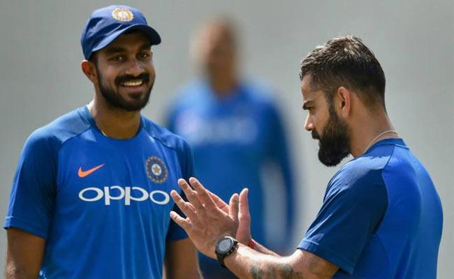 Vijay Shankar Happy After World Cup 2019 Team India Selection - Sakshi