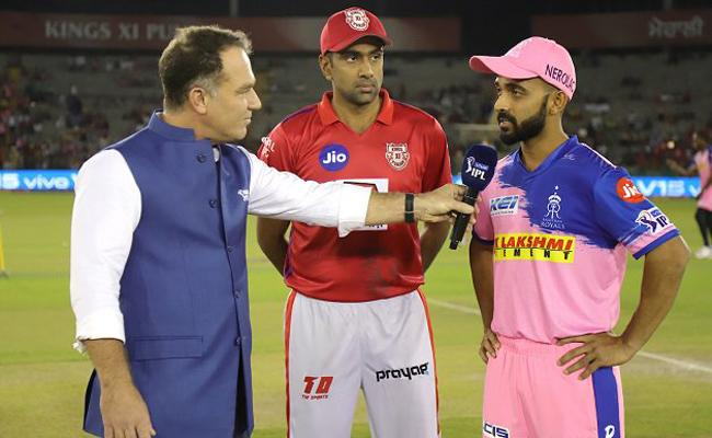 Rajasthan Royals Opted to Bowl, Smith Out - Sakshi