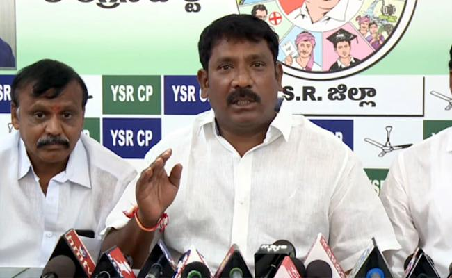 YSRCP Leader Koramutla Srinivasulu Fires On Chandrababu Over His Comments On EVMs - Sakshi