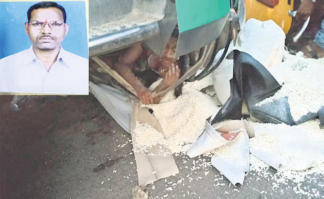 Lorry Accident In Rangareddy - Sakshi