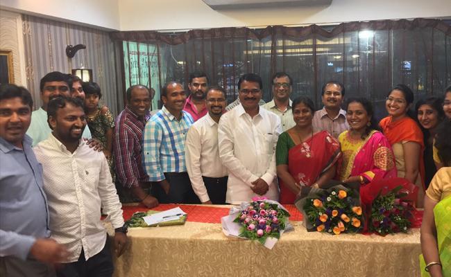 MYTA meet and greet with Telangana minister Niranjan reddy - Sakshi