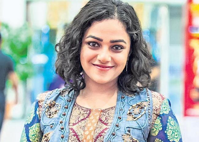 Nithya Menen in Rajamouli RRR - Sakshi