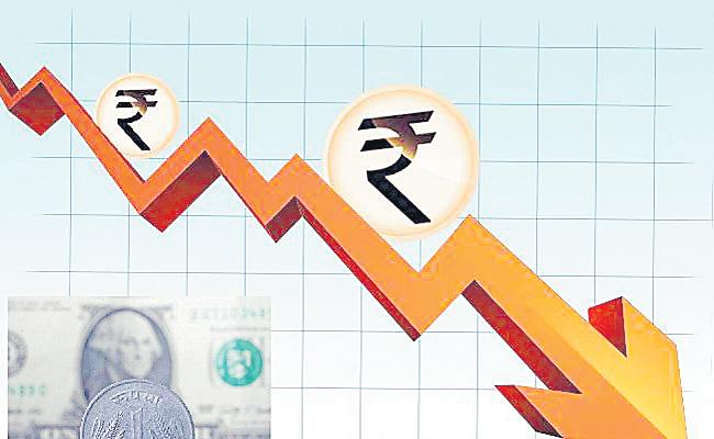 Rupee drops 25 paise to close at 69.42 vs USD - Sakshi