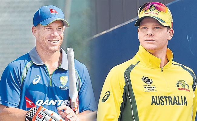 Smith, Warner return for Australia World Cup - Sakshi