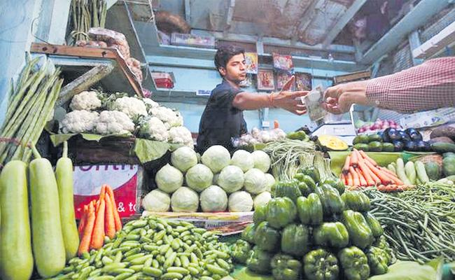 WPI inflation spikes to 3.18% in March on costlier food, fuel - Sakshi