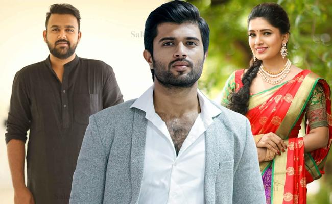 Vani Bhojan To Make Telugu Debut In Vijay Devarkonda First Film As A Producer - Sakshi