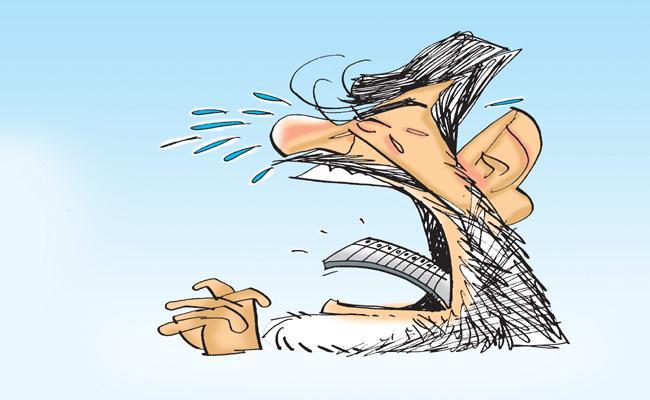 ABK Prasad Article On Chandrababu Naidu Stunts - Sakshi