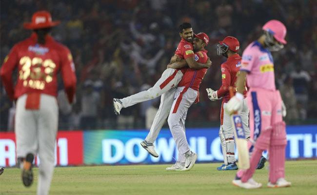 IPL 2019 Punjab Claim Fifth Victory With 12 Runs Against Rajasthan - Sakshi