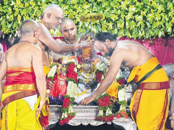 Mahaa Pattabhishekam to Ramayya - Sakshi
