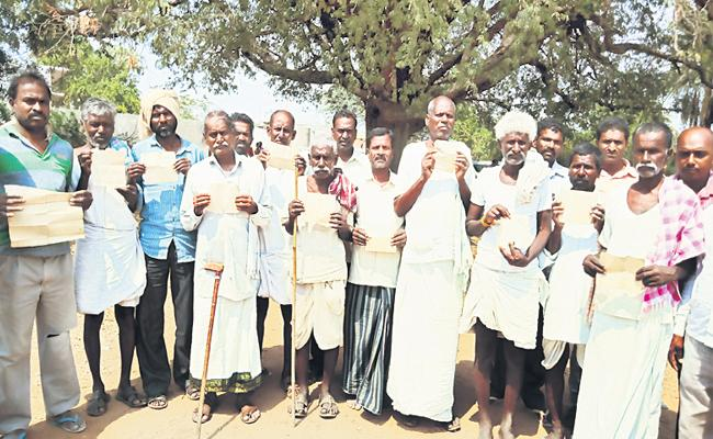 Farmers Problems With Land Registrations Rangareddy - Sakshi