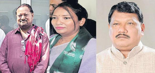 BJP, BJP and Congress Tough Fight in Sundargarh lok sabha elections - Sakshi