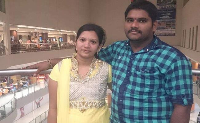 Married Women Suspicious Death in Vijayawada - Sakshi