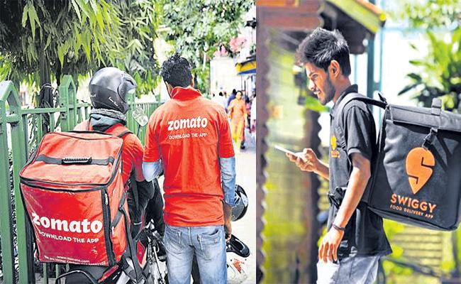 Food Delivery Services Hikes in Hyderabad - Sakshi