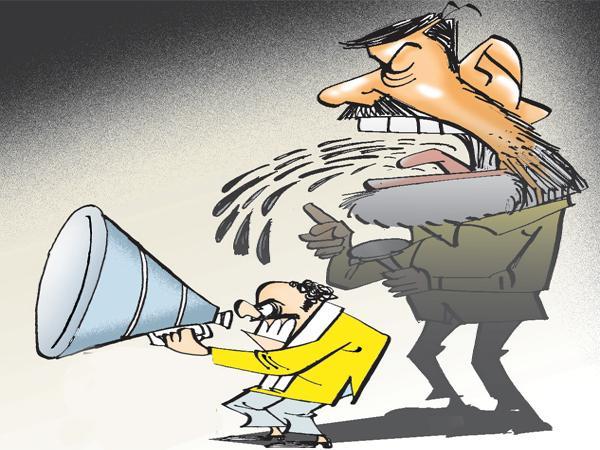 TDP Negative Campaign On Election Commission Officers - Sakshi