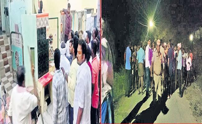 TDP Workers Threaten YSRCP Voters In Guntur District - Sakshi