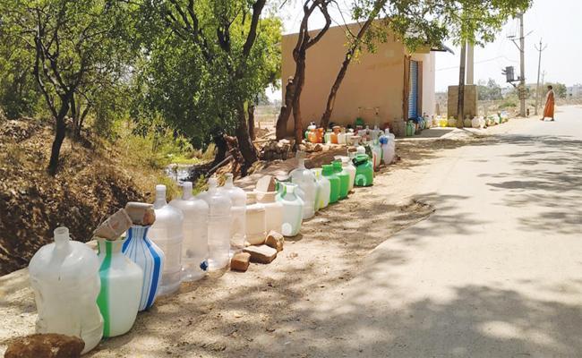 Water Problems in Chittoor - Sakshi