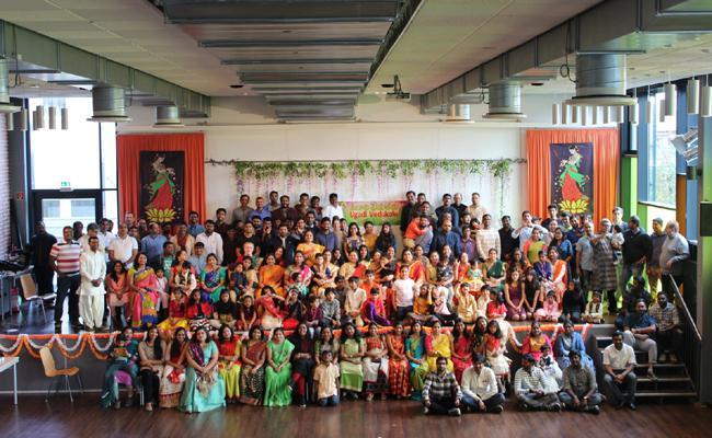 Ugadi Vedukalu celebrated in Germany Cologne City - Sakshi